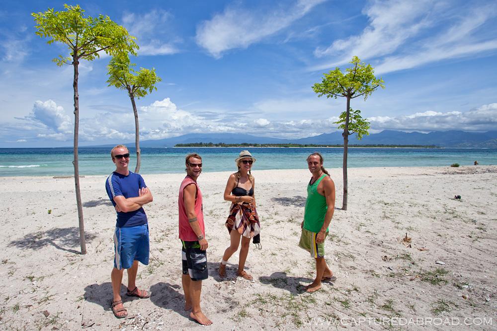 Gili Trawangan island, Lombok Indonesia