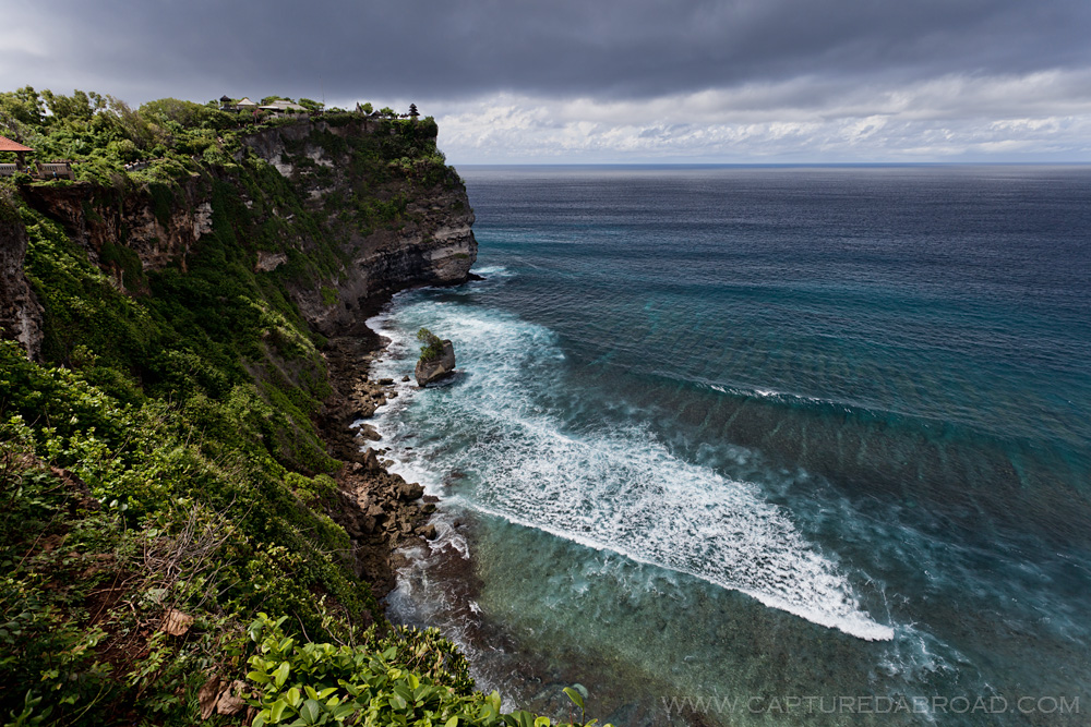 Uluwatu temple, Bali on Bukit Peninsula