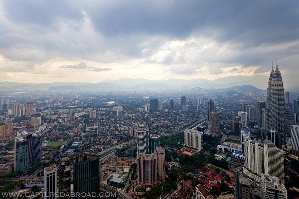 Petrona twin towers Kuala Lumpur, cityscape