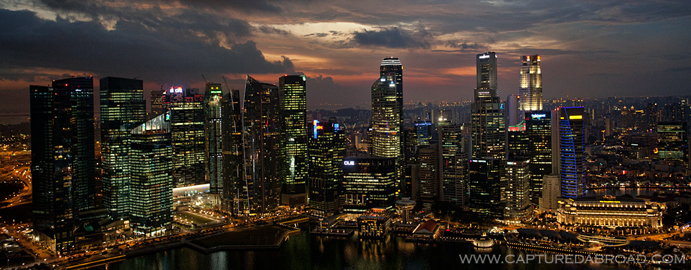 Cityscape - Marina Bay Sands, Singapore