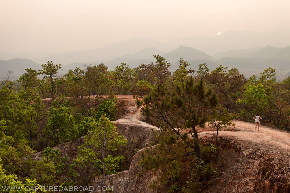 Sunset Kong Lan/Pai Canyon - Pai
