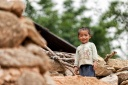 Boy in Lao Chai village