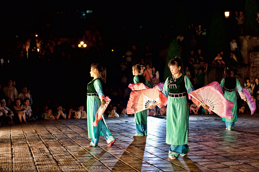 Dancing in sapa vietnam