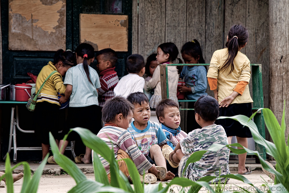 Vietnam school kids