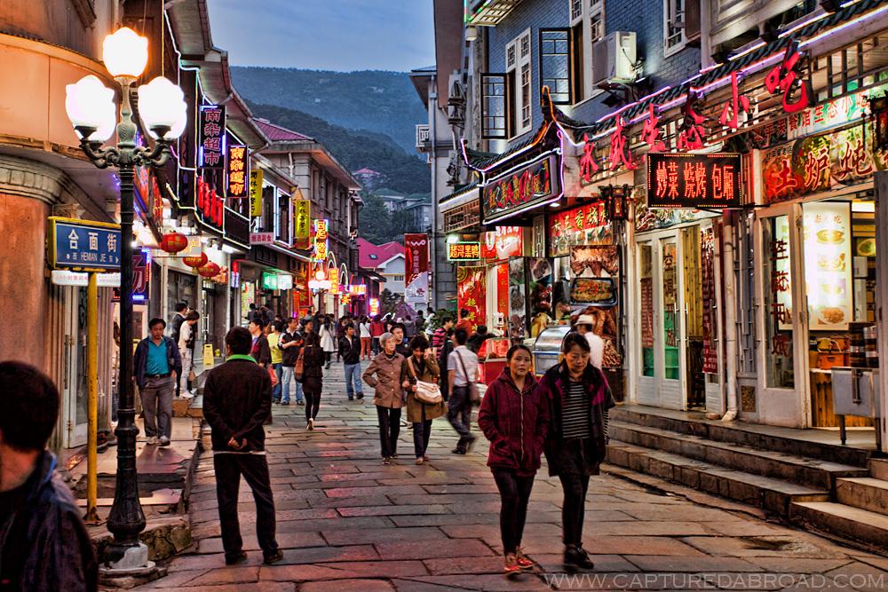 Mt Lushan town
