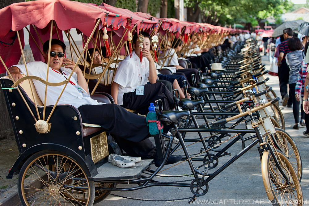 Rickshaws in Beijing