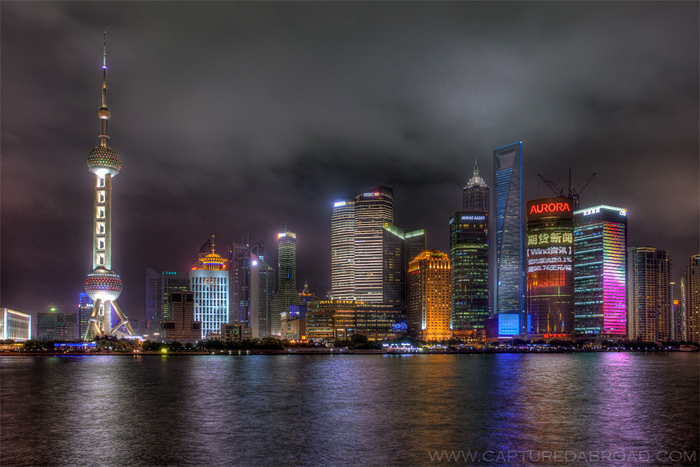 Skyline in Shanghai