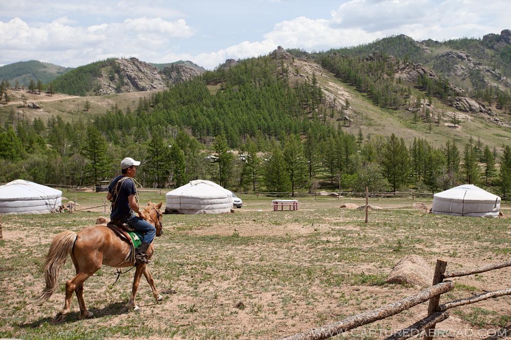 Terelj National Park Mongolia, horse riding
