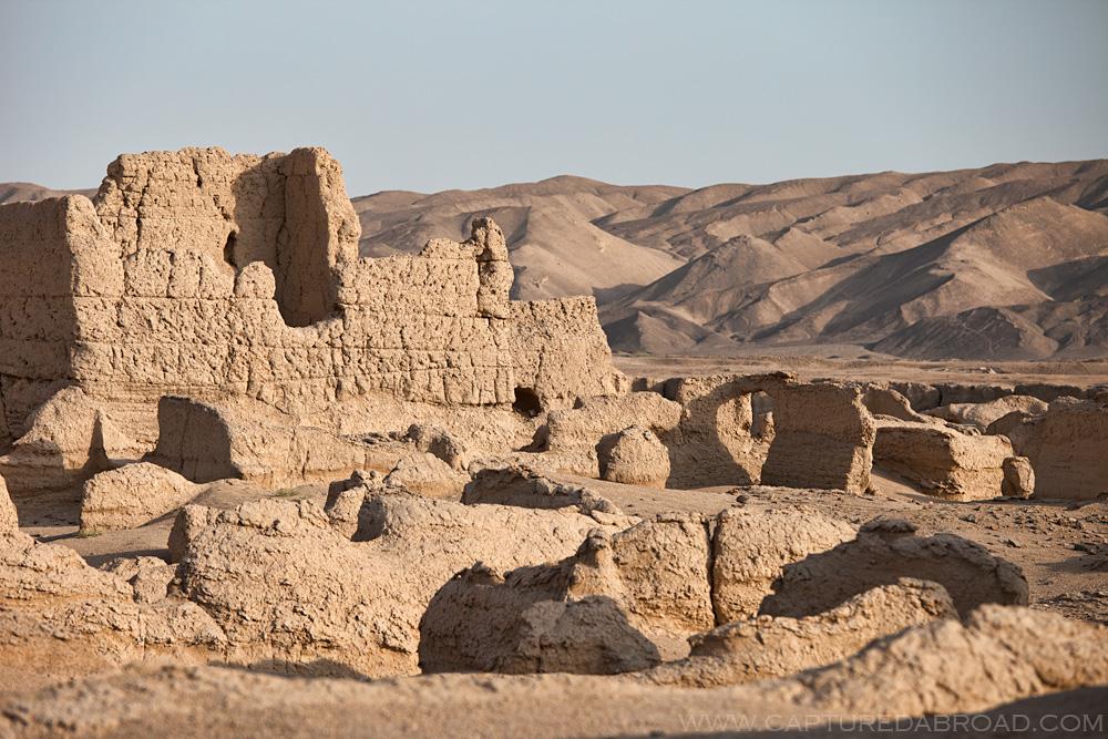 China ruins, Xingjiang province
