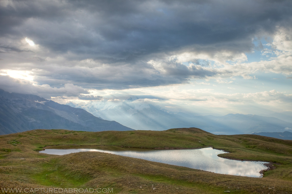 Lake Koruldi Mestia
