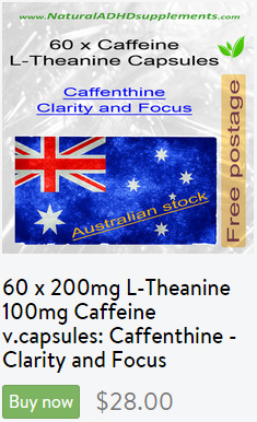 Purchase L-Theanine Caffeine capsules