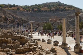 Amphitheatre at Ephesus Ruins