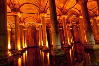 Basilica Cistern, underwater storage in Istabul