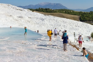 Pamukkale - cotton mountain