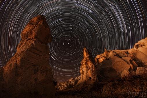 Star lapse in Cappadocia